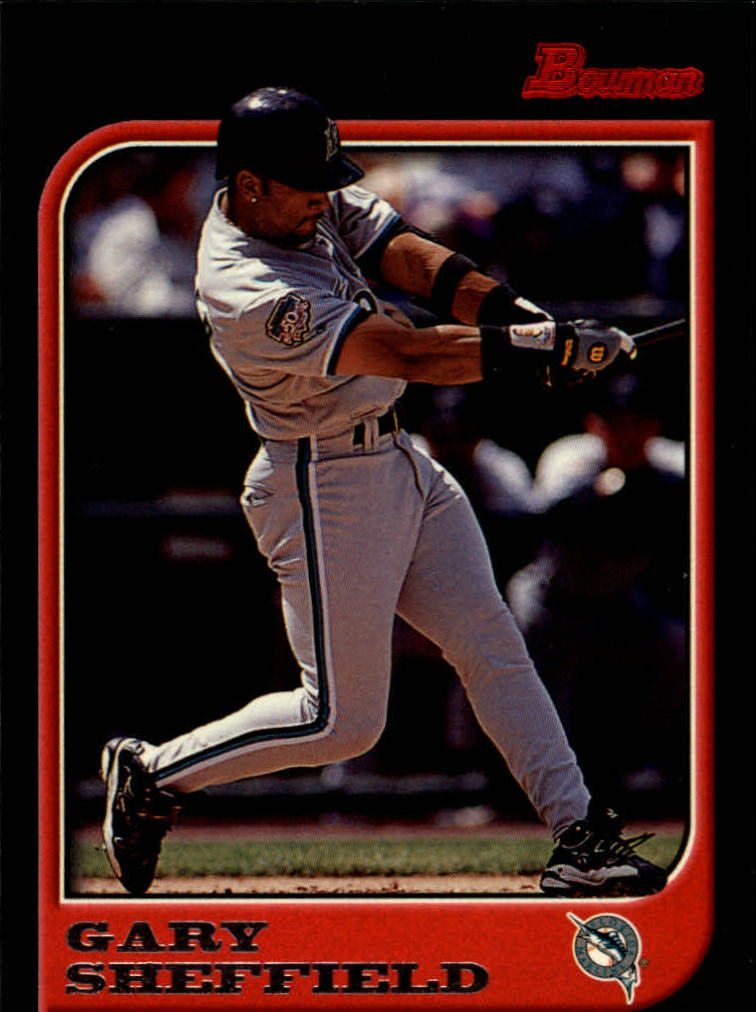 1997 Bowman #231 Gary Sheffield
