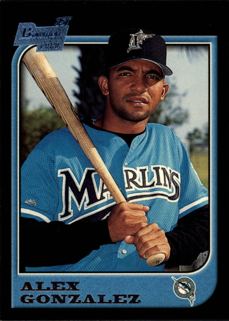 1997 Bowman #298 Alex Gonzalez RC