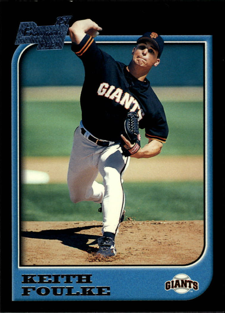 1997 Bowman #317 Keith Foulke RC
