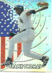 1997 Bowman International Best Refractor #BBI1 Frank Thomas