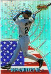 1997 Bowman International Best Refractor #BBI2 Ken Griffey Jr.