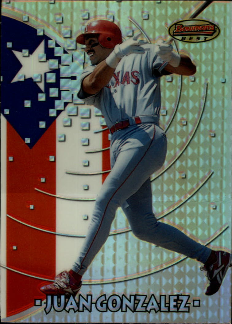 1997 Bowman International Best Refractor #BBI3 Juan Gonzalez