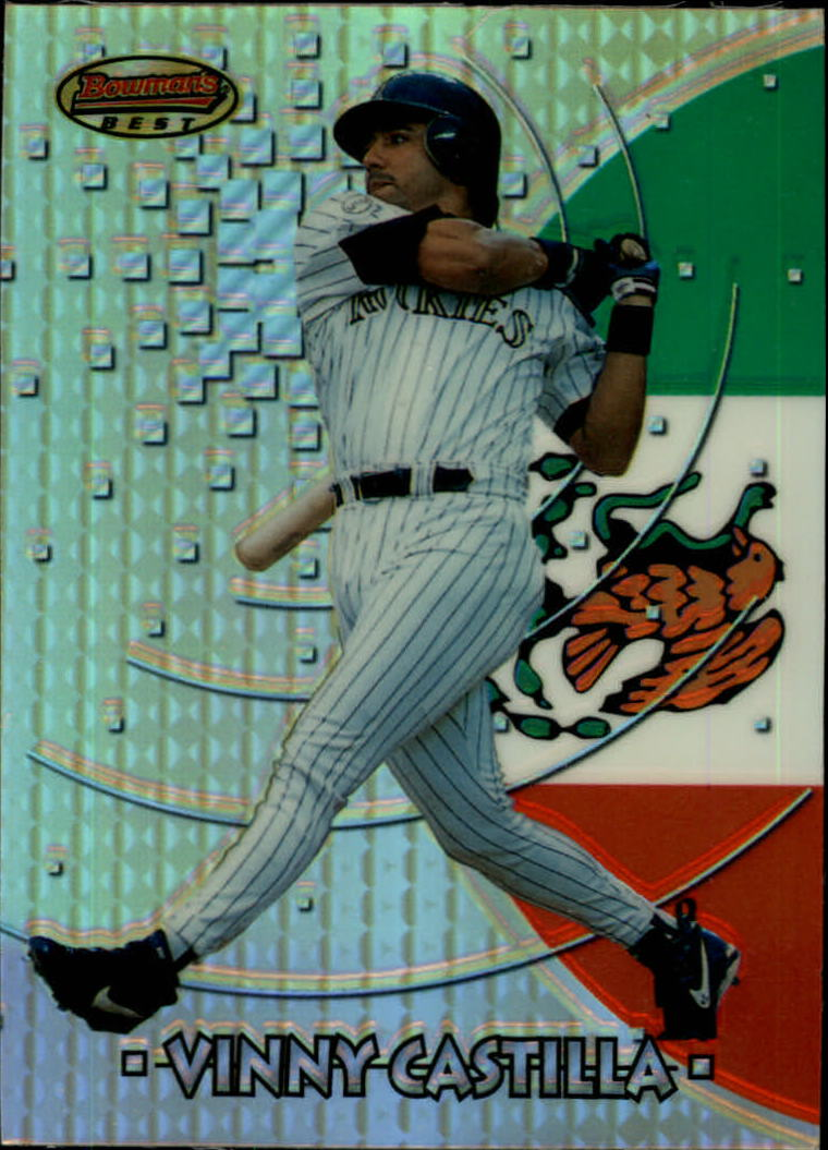 1997 Bowman International Best Refractor #BBI8 Vinny Castilla