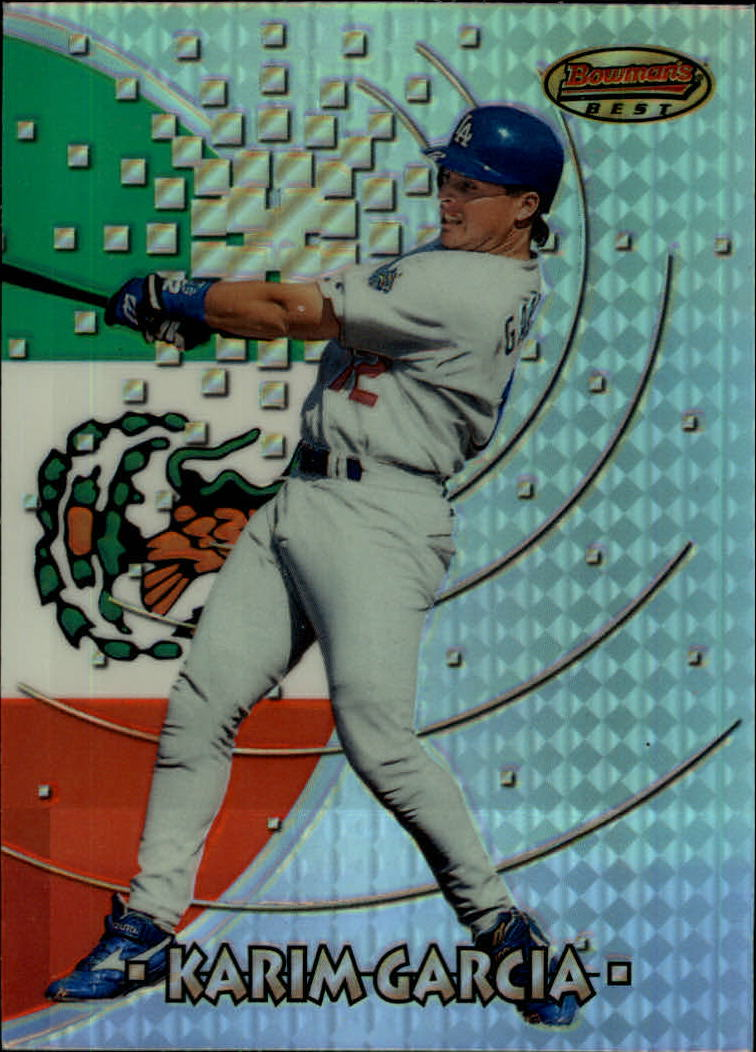1997 Bowman International Best Refractor #BBI17 Karim Garcia