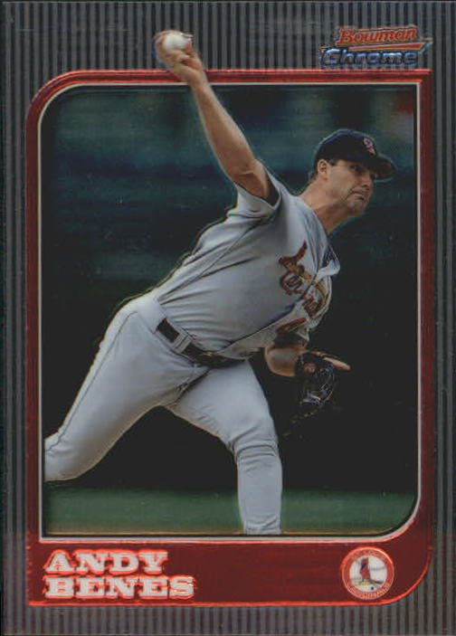 1997 Bowman Chrome #9 Andy Benes
