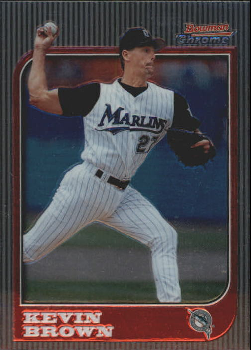 1997 Bowman Chrome #36 Kevin Brown