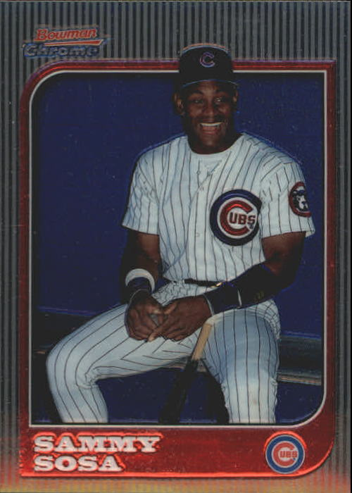 1997 Bowman Chrome #40 Sammy Sosa