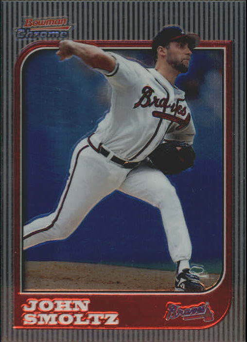 1997 Bowman Chrome #41 John Smoltz