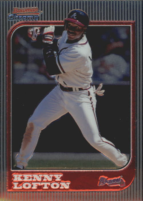 1997 Bowman Chrome #54 Kenny Lofton