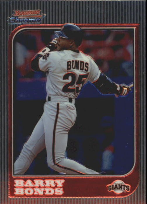 1997 Bowman Chrome #69 Barry Bonds