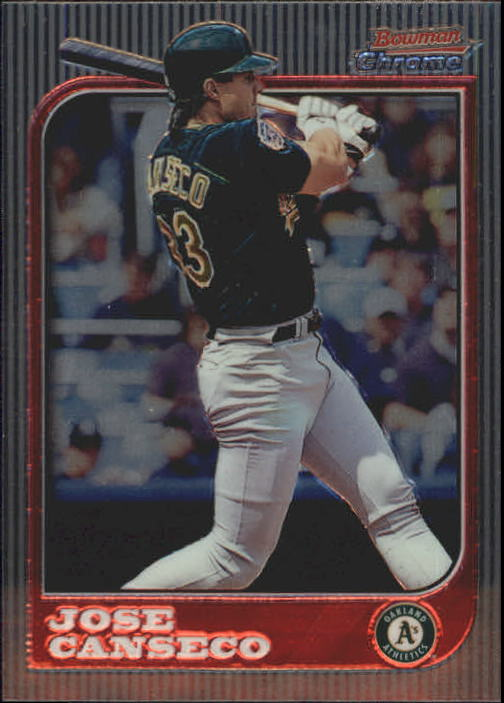1997 Bowman Chrome #77 Jose Canseco