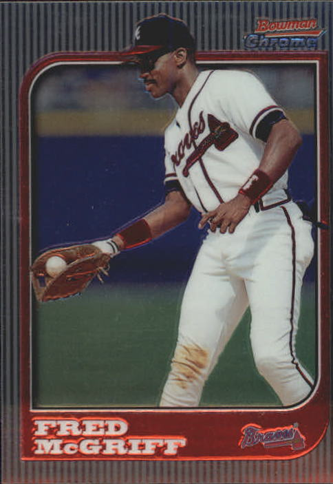 1997 Bowman Chrome #84 Fred McGriff