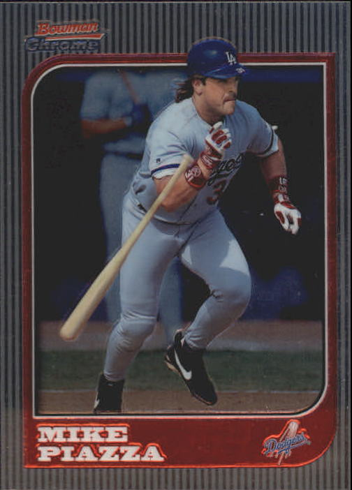 1997 Bowman Chrome #85 Mike Piazza
