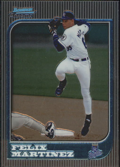 1997 Bowman Chrome #112 Felix Martinez