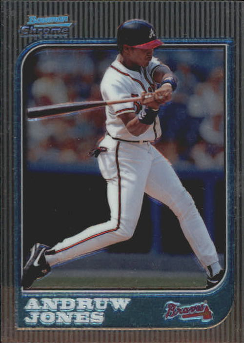 1997 Bowman Chrome #127 Andruw Jones