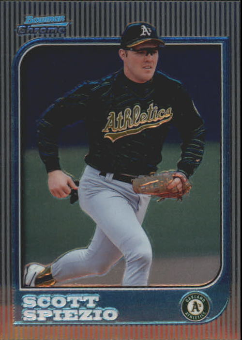 1997 Bowman Chrome #150 Scott Spiezio