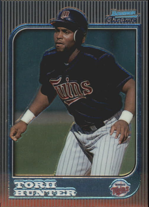 1997 Bowman Chrome #168 Torii Hunter