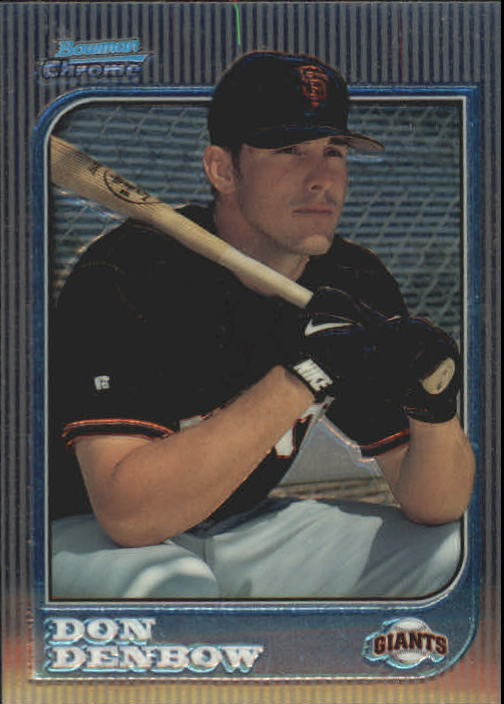 1997 Bowman Chrome #199 Don Denbow RC