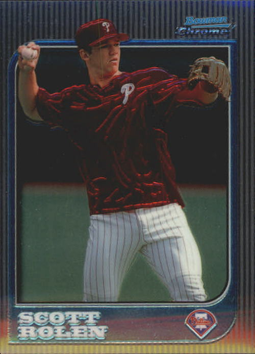 1997 Bowman Chrome #202 Scott Rolen