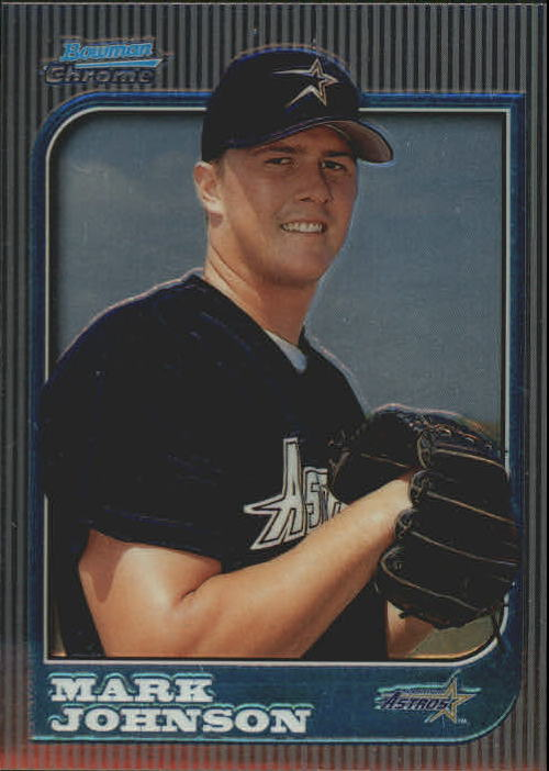 1997 Bowman Chrome #222 Mark Johnson RC