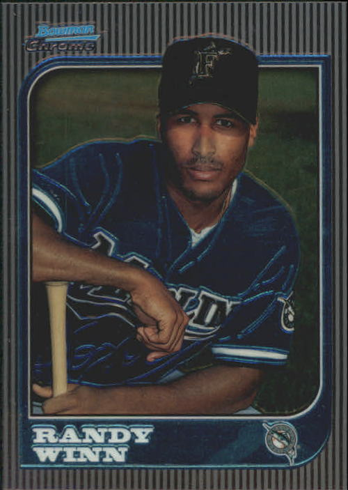 1997 Bowman Chrome #223 Randy Winn