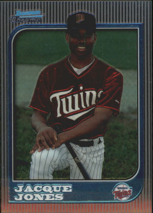 1997 Bowman Chrome #225 Jacque Jones RC
