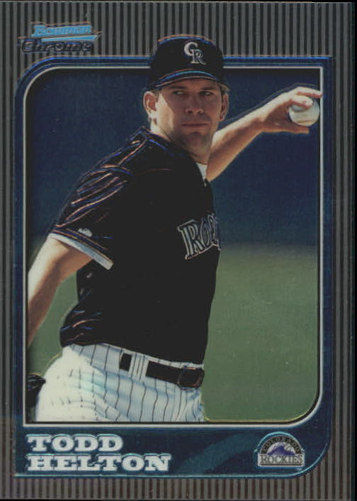 1997 Bowman Chrome #227 Todd Helton