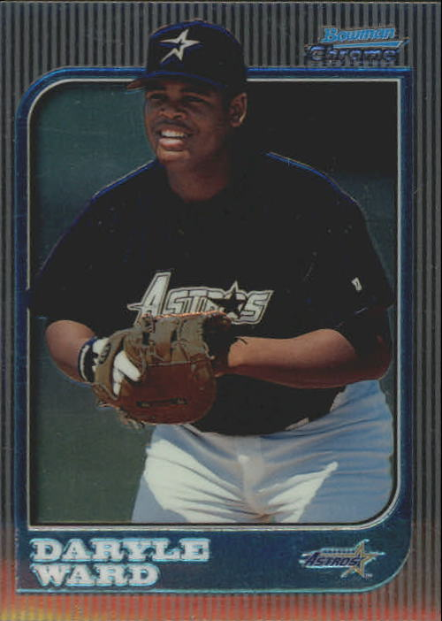 1997 Bowman Chrome #231 Daryle Ward