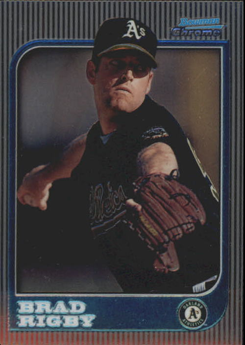 1997 Bowman Chrome #239 Brad Rigby