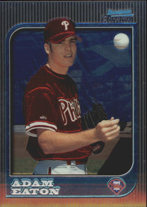 1997 Bowman Chrome #243 Adam Eaton RC