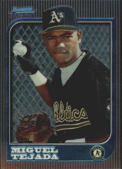 1997 Bowman Chrome #273 Miguel Tejada RC