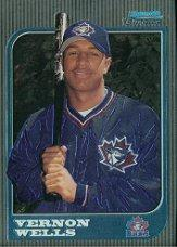 1997 Bowman Chrome #284 Vernon Wells RC