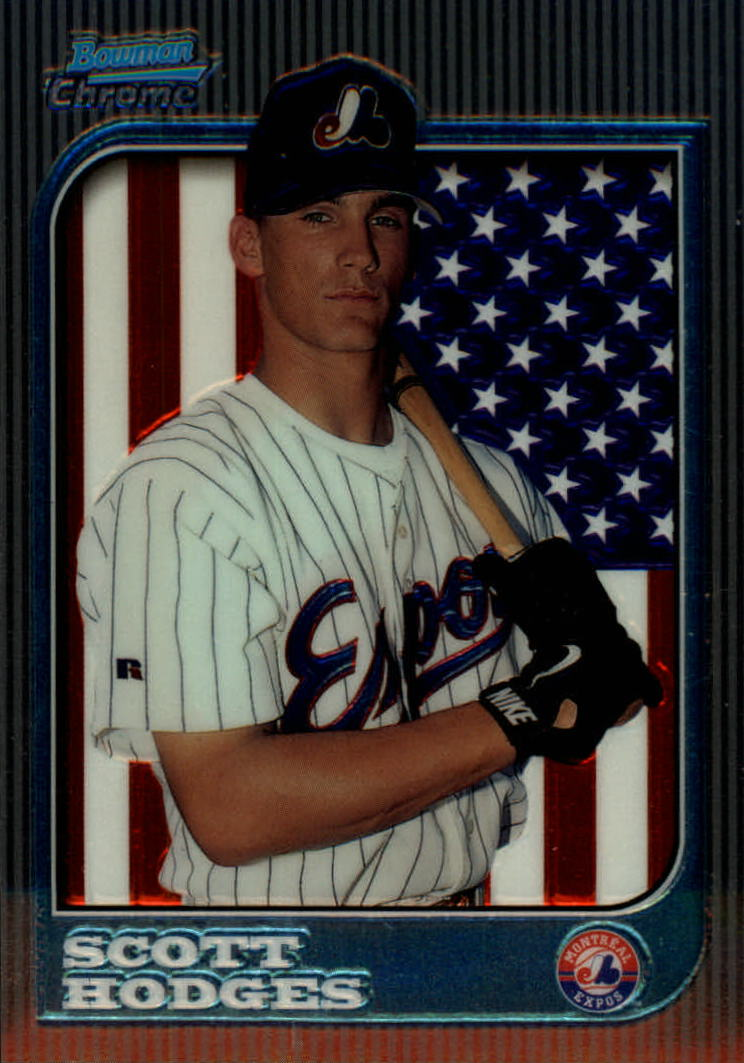1997 Bowman Chrome #286 Scott Hodges RC