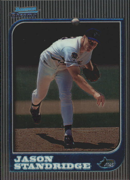 1997 Bowman Chrome #299 Jason Standridge RC