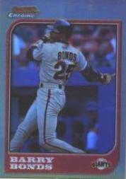 1997 Bowman Chrome Refractors #69 Barry Bonds