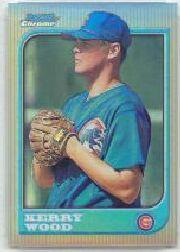 1997 Bowman Chrome Refractors #183 Kerry Wood