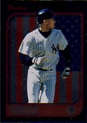 1997 Bowman Chrome International #1 Derek Jeter