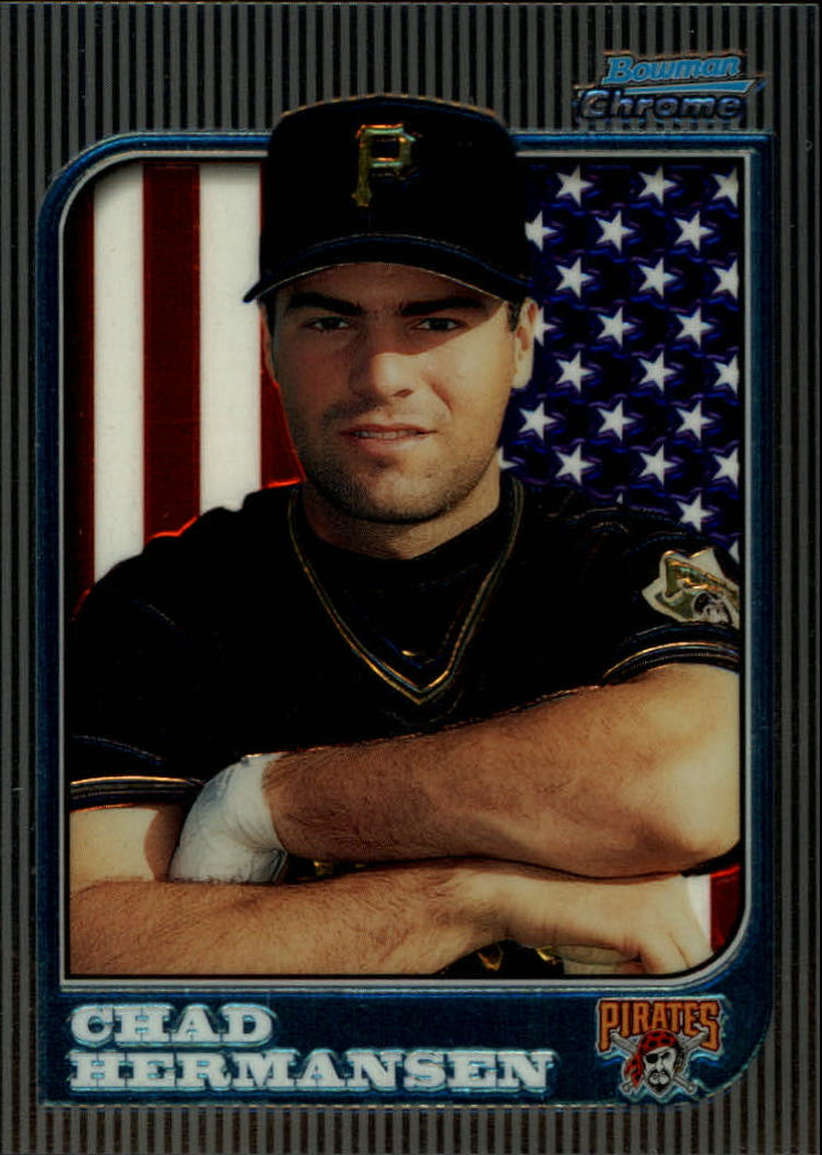 1997 Bowman Chrome International #111 Chad Hermansen