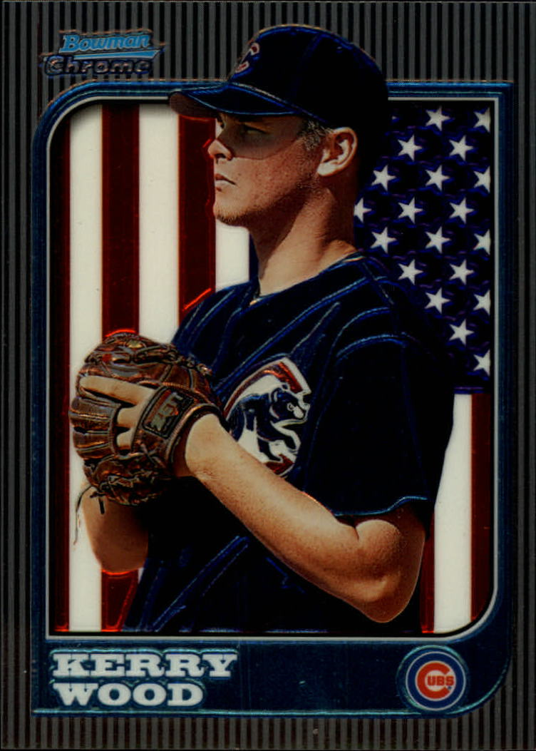 1997 Bowman Chrome International #183 Kerry Wood