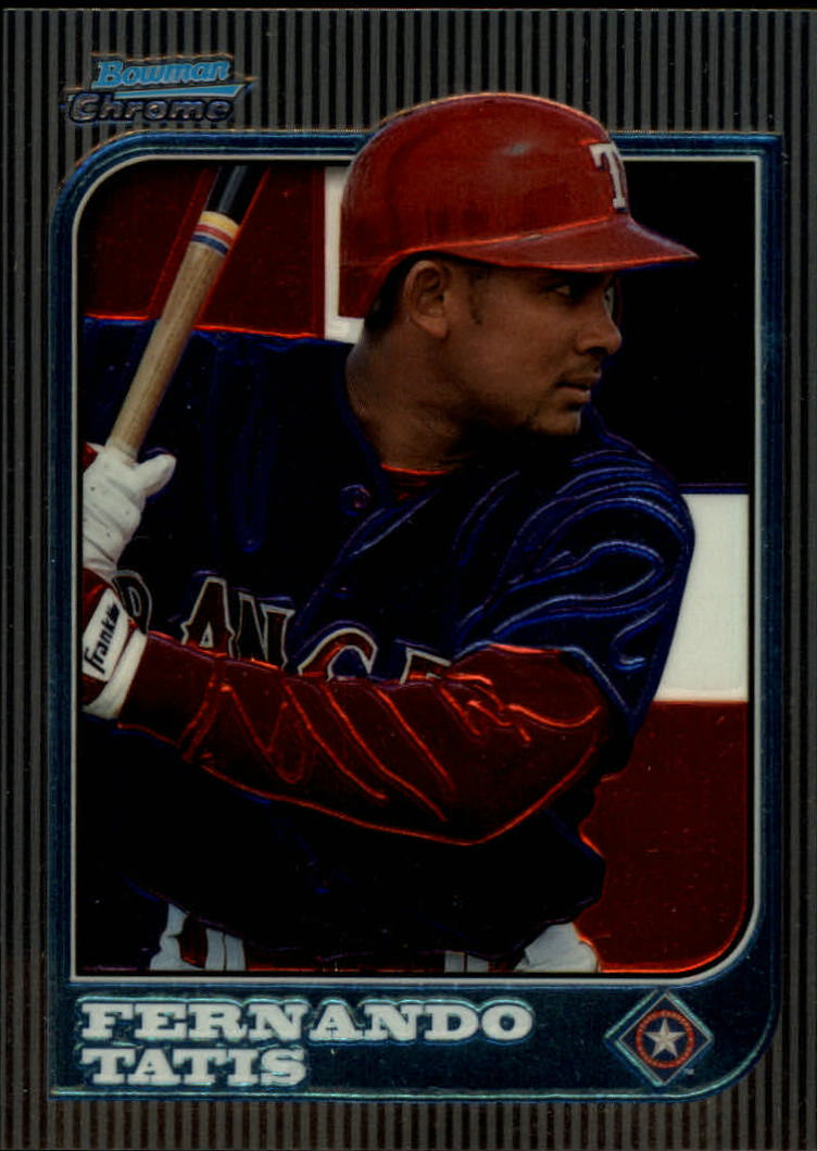 1997 Bowman Chrome International #185 Fernando Tatis