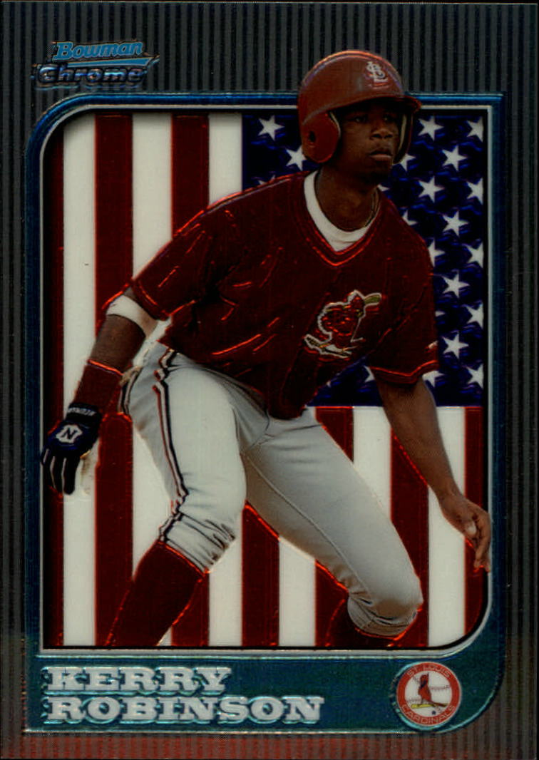 1997 Bowman Chrome International #252 Kerry Robinson