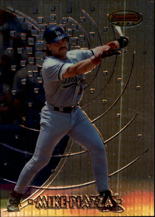 1997 Bowman's Best #5 Mike Piazza
