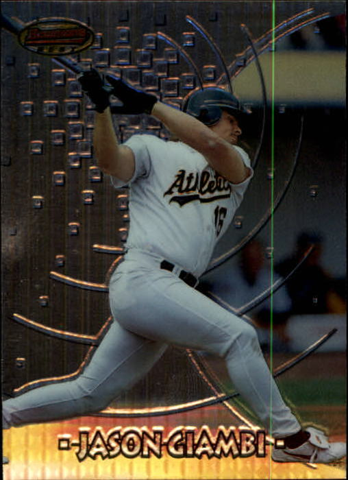 1997 Bowman's Best #87 Jason Giambi