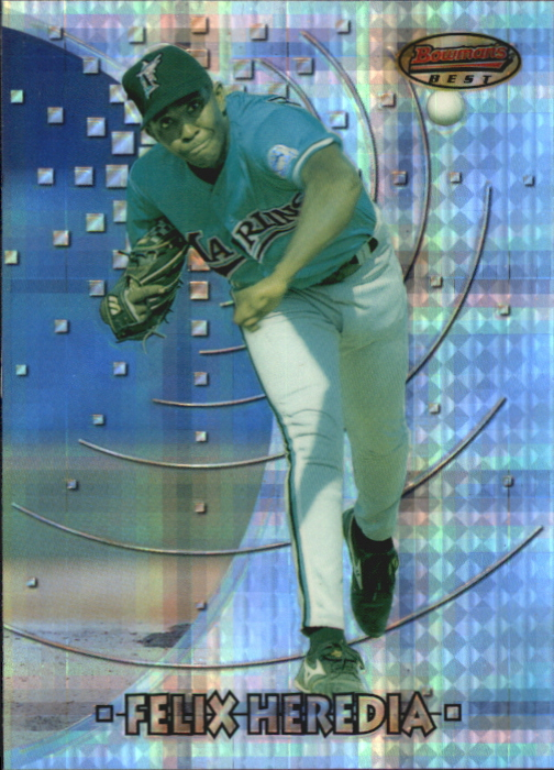 1997 Bowman's Best Atomic Refractors #124 Felix Heredia