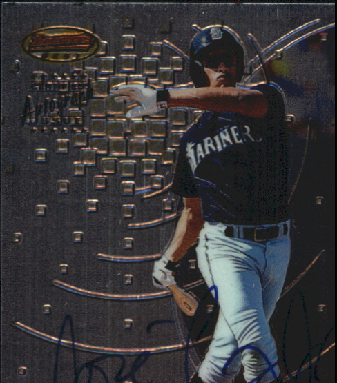 1997 Bowman's Best Autographs #188 Jose Cruz Jr.