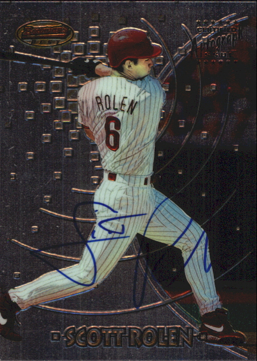 1997 Bowman's Best Autographs #194 Scott Rolen