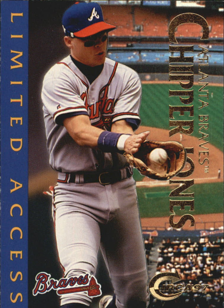 1997 Circa Limited Access #8 Chipper Jones
