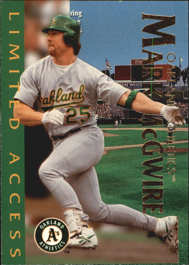 1997 Circa Limited Access #10 Mark McGwire
