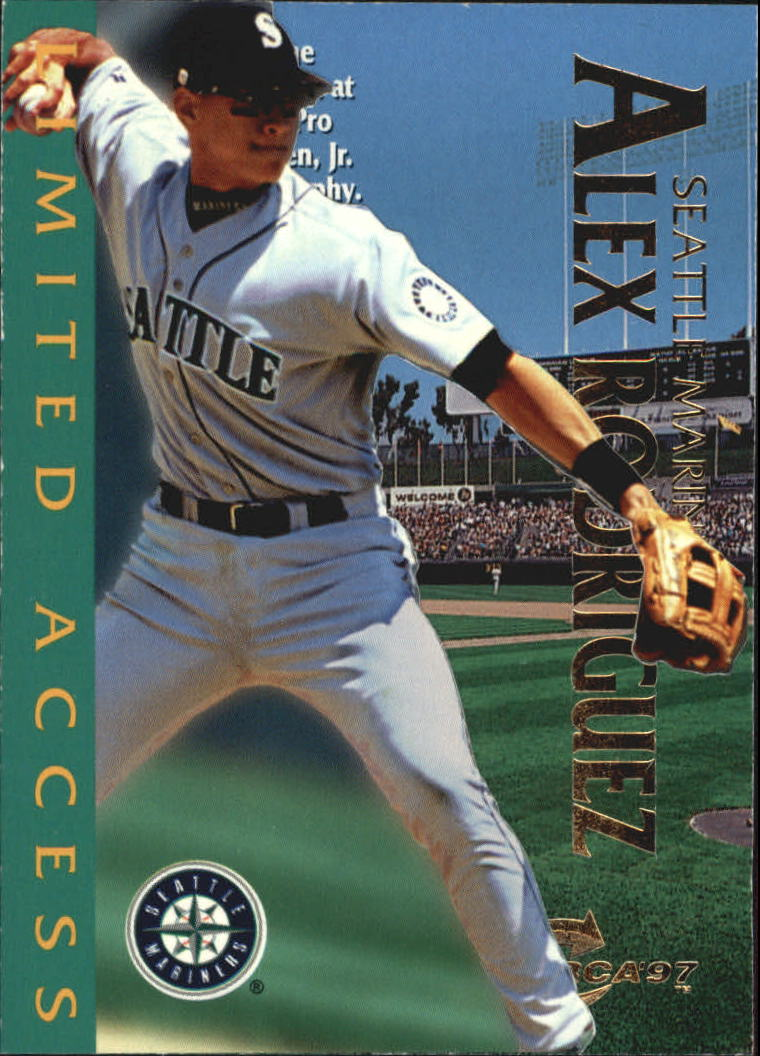 1997 Circa Limited Access #13 Alex Rodriguez