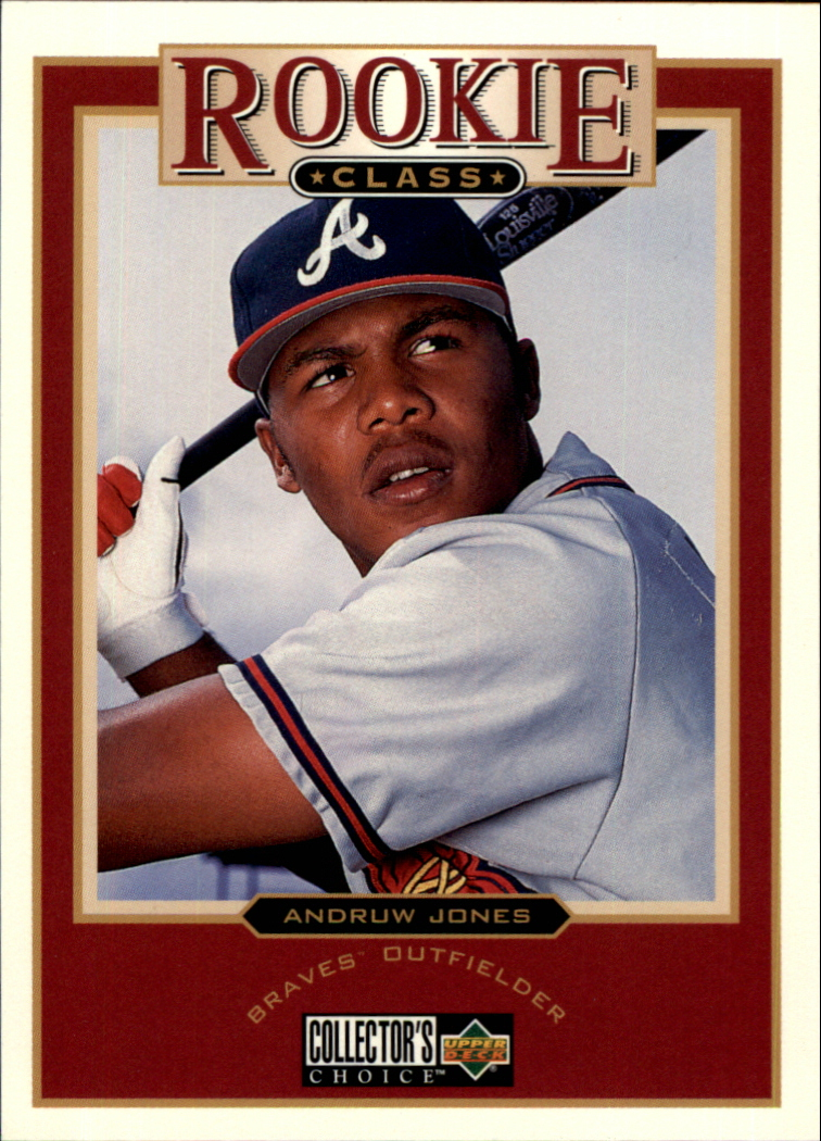 1997 Collector's Choice #1 Andruw Jones